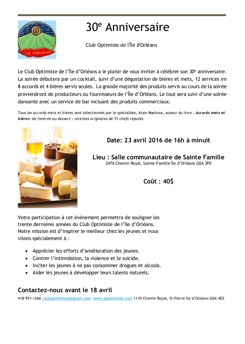 Invitation 30e anniversaire Club Optimiste (1)(2)a